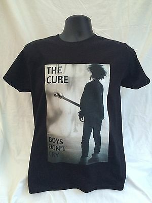 The CURE black t-shirt - sizes Small through to 3XL