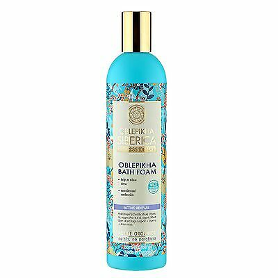 Natura Siberica Oblepikha Bath Foam Active Revival 550ml