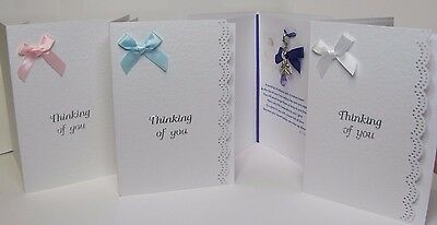 Personalised Card Bereavement Miscarriage Stillborn Baby Loss Memory Keepsake