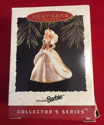 Vintage Hallmark Holiday BARBIE Ornament New And In Original Box Dated 1994