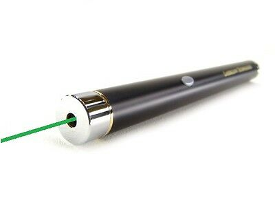 Green Laser Pointer Pen 3mW-5mW High Quality Visible Adjustable Beam 532nm
