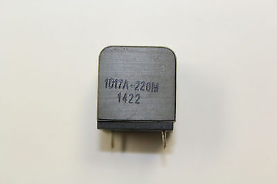 1D17A-220M Fixed Inductors Class D Inductor 22uH 18mOhms BOX WITH 728