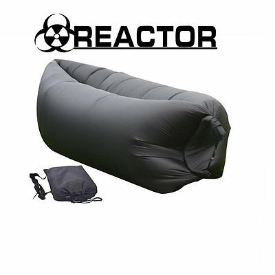 Reactor Outdoor Lazy Inflatable Couch Air Sleeping Sofa Lounger Bag Camping Bed