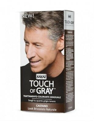 TOUCH OF GRAY 40 ml - JUST FOR MEN- colore parrucchiere