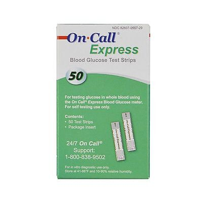 On Call Express Test Strips