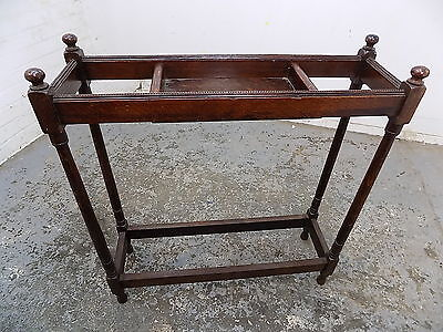 antique,victorian,oak,hall stand,umbrella stand,stick stand,stand,open stand,key