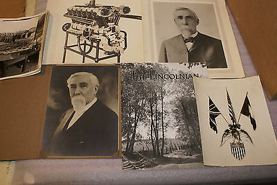 RARE Original 1920 Photo Collection Henry Leland Lincoln Motor Co Liberty Engine