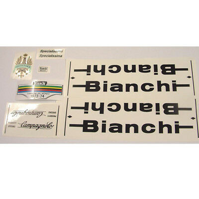 Bianchi Specialissima decal set for vintage Campagnolo