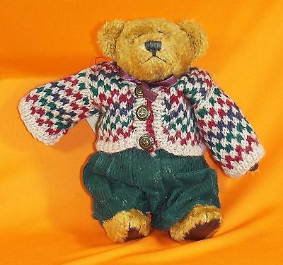 """Boyds Bears """"Eddie Bean Bauer"""" Investment Collectables - Style 9119 - EUC"""