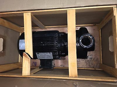3 HP Centrifugal Pump, 3 Phase, 208-230/460 Voltage, Cast Iron Housing 12A062