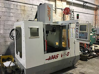 "Haas VF-0 3-Axis VMC 1995 20"" x 16"" x 20"" Travels"