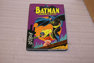 Batman From the 30s to the 70s Hardcover Book 1975 4th Printing