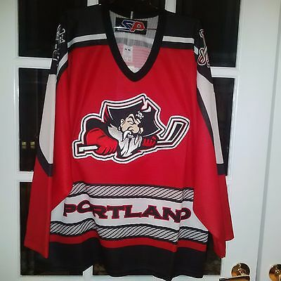 AHL Portland Pirates Hockey Jersey - Large - NEW