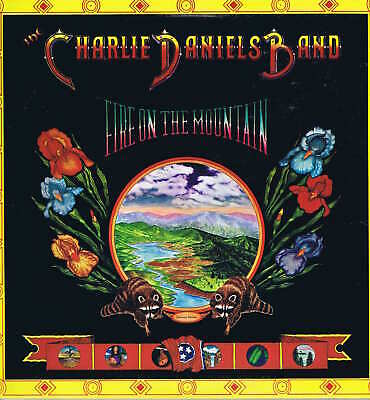Charlie Daniels Band – Fire On The Mountain – US Press LP Record