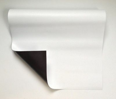 Magnet Foil - 0,7mm x 1000mm - Matt White - Sold by the Meter - Band -
