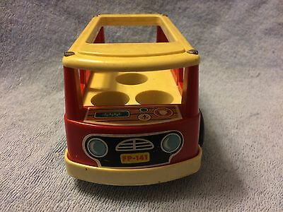 Fisher Price Vintage Mini-Bus (Holds 5 People)
