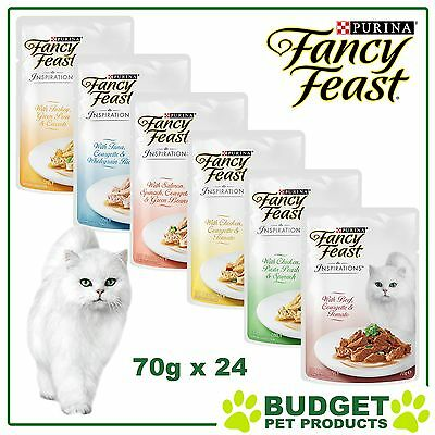 Fancy Feast Inspirations Pouches 70g x 24