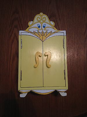 Disney Beauty and the Beast Enchanted Wardrobe wood musical jewelry box Schmid