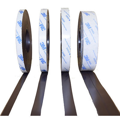Magnet band for Flyscreen, self-adhesive, Type A and B, 1, 5mm x 25, 4mm - 5 m