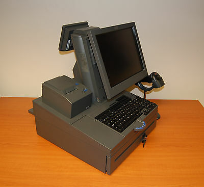 IBM SurePOS 500 4852-566 Till Bundle with Printer Cash Drawer & Barcode Scanner
