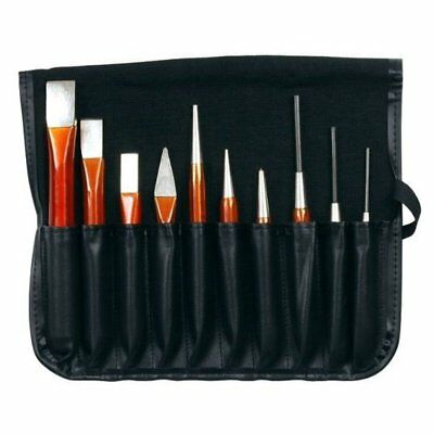 Bahco 3656/10 Pin Punch Chisel Set 10 Piece