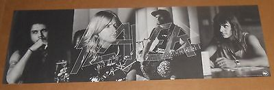 Slayer Seasons in the Abyss Poster 1990 Promo 36x12 Def American Black & White