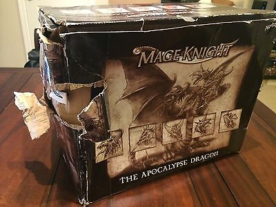 Mage Knight: the Apocalypse Dragon. Box and instructions included
