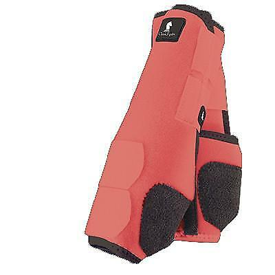 Classic Equine Legacy Boots - Coral - Medium Fronts
