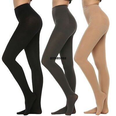 Classic Women 400D Velvet Opaque Footed Tights Pantyhose Stockings Socks Winter