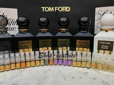 Tom Ford  2 Ml. Spray  You Choose Scent