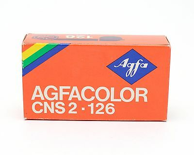 Agfa AGFACOLOR 126 Format Film 12 Exposures Expired July 1979
