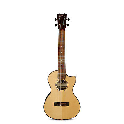 Cordoba 22T-CE Acoustic Electric Tenor Ukulele Solid Spruce Top Aquila Strings
