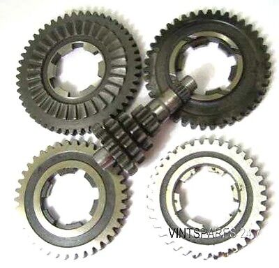 New Lambretta Li 150 Complete Gearbox Gears And Cluster Free Ship @24.7