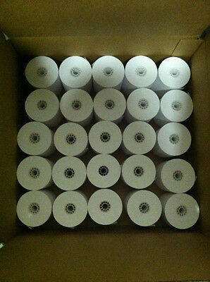 "2500 rolls 3 1/8"" 80mm x 230' Thermal POS Paper Rolls Epson 50 Cases Buy It Now"