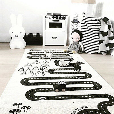 Baby Cotton Thicken Rug Kid Game Activity Play Mat Crawling Blanket Floor Carpet