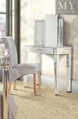 ZOE Mirrored Dressing Table Console