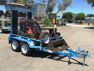 Low Hour Dingo Mini Loader Trailer Package with Attachments