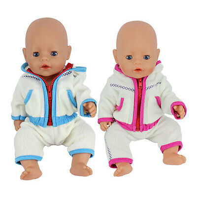 2set warm clothes Wearfor 43cm Baby Born zapf (only sell clothes )