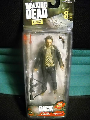 Walking Dead Serie 8 Rick Action Figur, Neu!