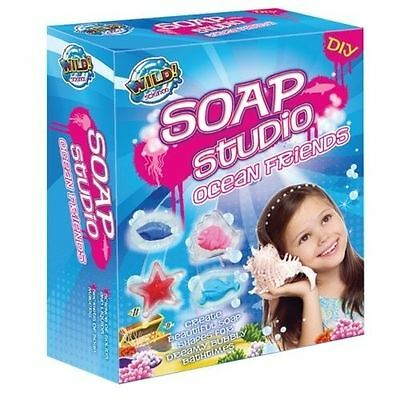 Brand New Wild Science Ocean Friends Soap Studio Kit Educational perfect gift!