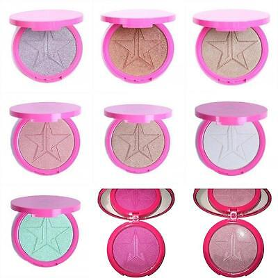 New Jeffree Star Skin Frost Highlighter Face Shadows Glow Kit Powders 9 Color