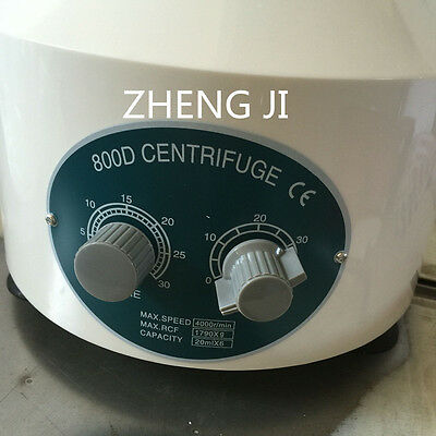 800D Electric Centrifuge Medical Lab Centrifuge Laboratory Centrifuge 110V/220V