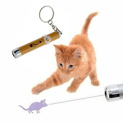 Pet Laser Pen Fuuny Toy & Keyring (Batteries Included) Cat Dog Lazer Free Post