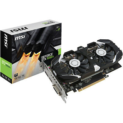 MSI GeForce GTX 1050Ti OC 4GB (V809-2277R)( NVIDIA, Grafikkarte)