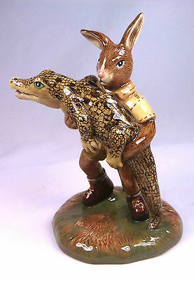 Royal Doulton limited edition Crocodile Hunter Bunnykins DB513 new in box
