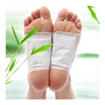 10x Detox Foot Pads Patch Detoxify Toxins Adhesive Keeping Fit Health Care 1291