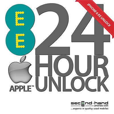UK Apple iPhone 6 Permanent Factory Unlocking Service For EE NEXT DAY