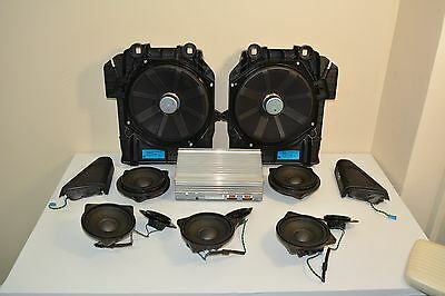 Bmw 5 Er F10 F11 + Lci Hifi Professional Audio Sound System Speakers Amplifier