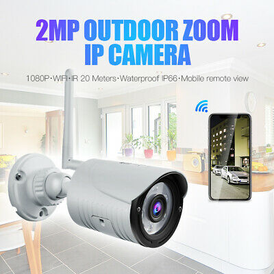 Waterproof 720P HD Wireless Wifi IP Camera Outdoor CCTV Security IR Infrared P2P