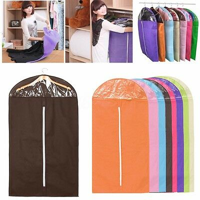 Home Suit Cover Skirt Dress Garment Coat Clothes Shirt Travel Hang Bag Storage